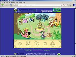 pbskids.org / dragon tales games